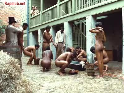 Черных рабынь принуждают к сексу