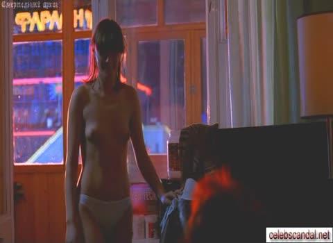 Анна Уколова - голая вночи.