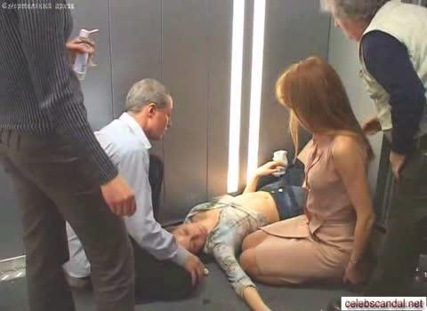 Наталья Рычкова - обнажение на съемках фильма.