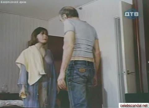Наталья Воробьева в прозрачной одежде.